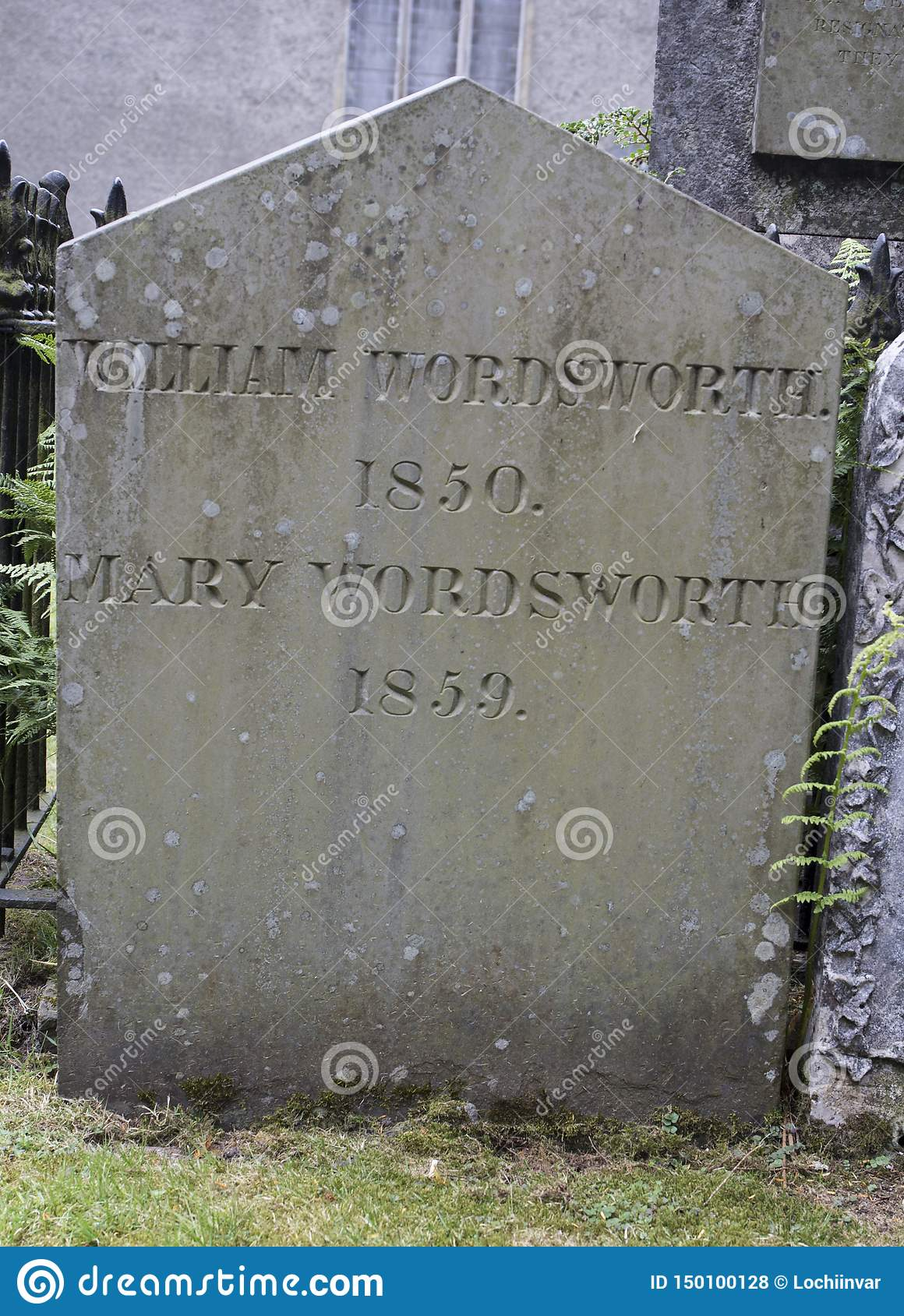 William Wordsworth - kyrka för St Oswalds, Grasmere