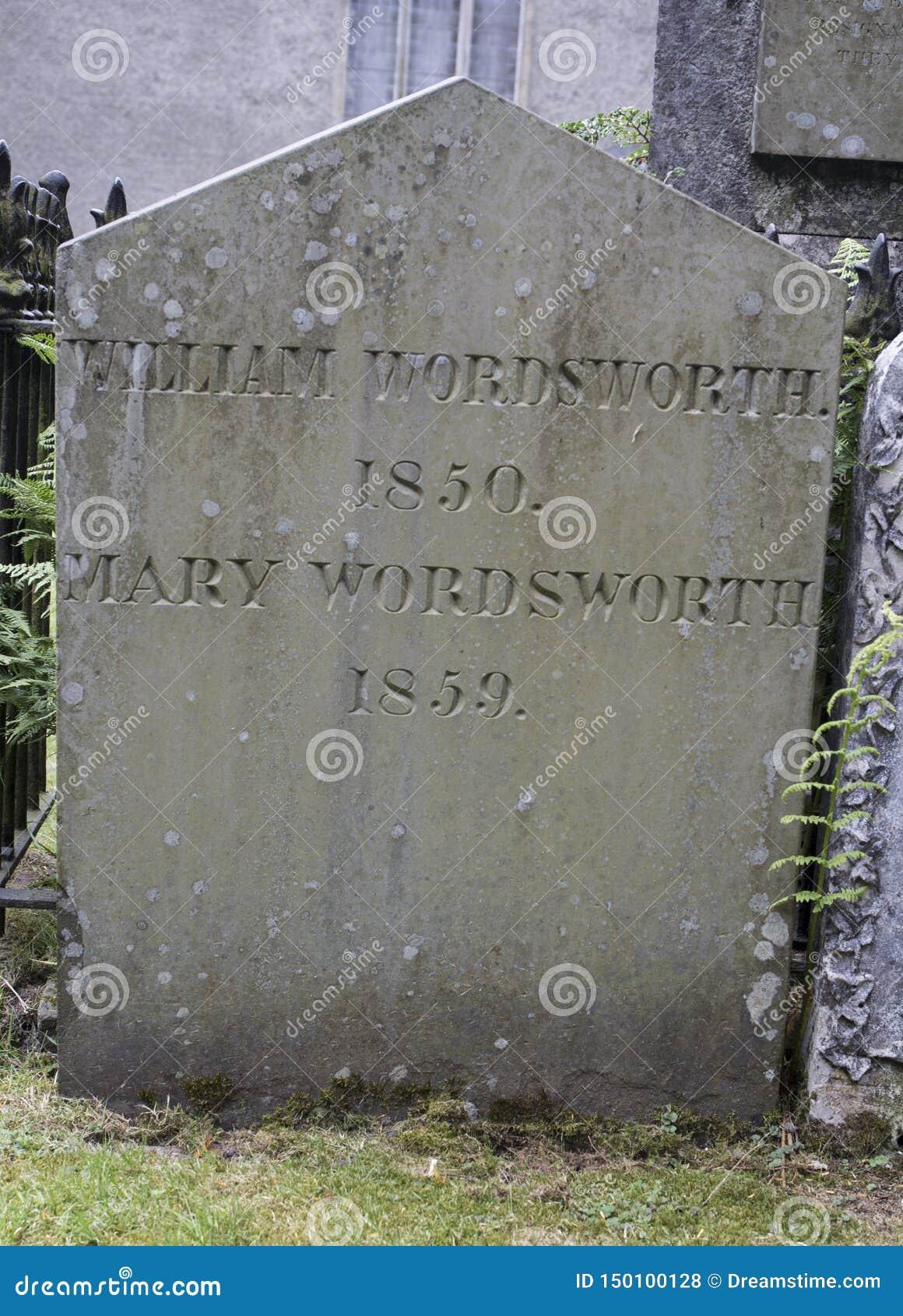 William Wordsworth - St Oswald`s Church, Grasmere
