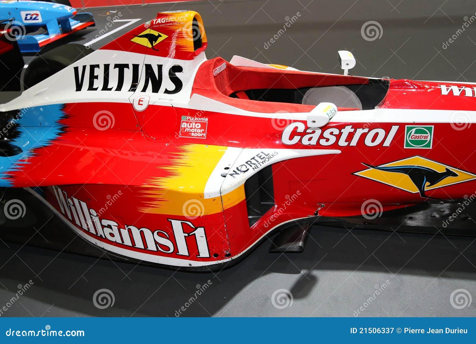Williams F1 Ralf Schumacher Editorial Photography