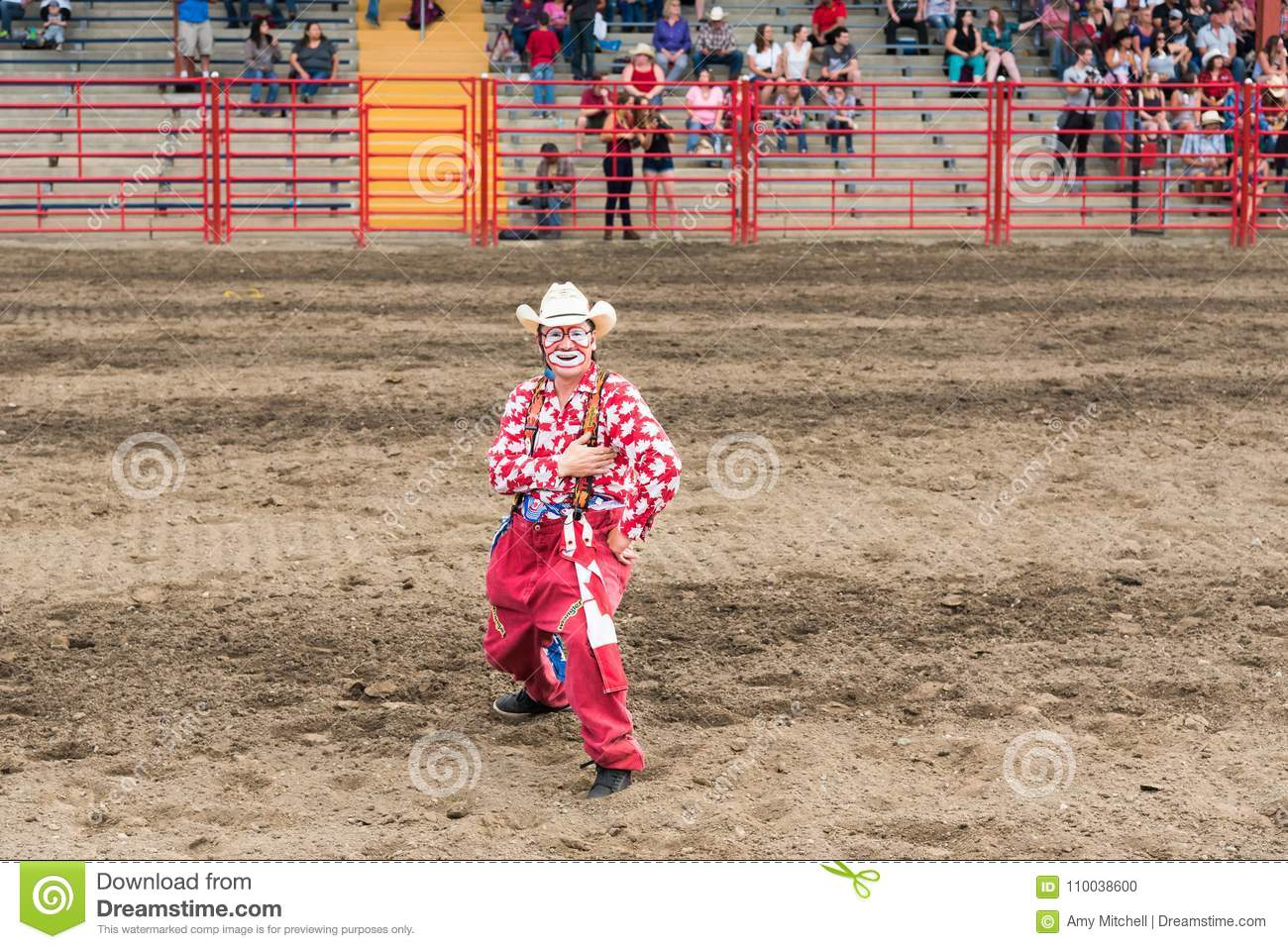 Rodeo Clown Editorial Photo Cartoondealer Com 26904251