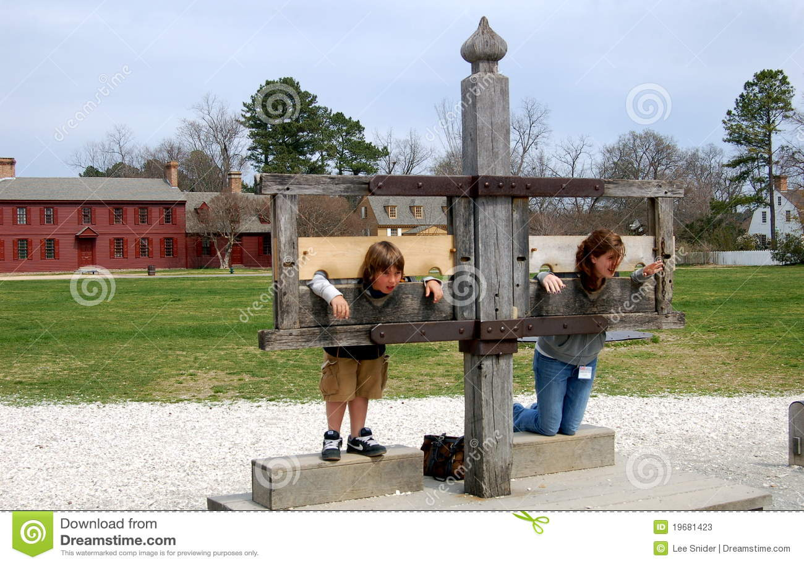 Colonial Punishments For Kids Williamsburg  VA Kids in