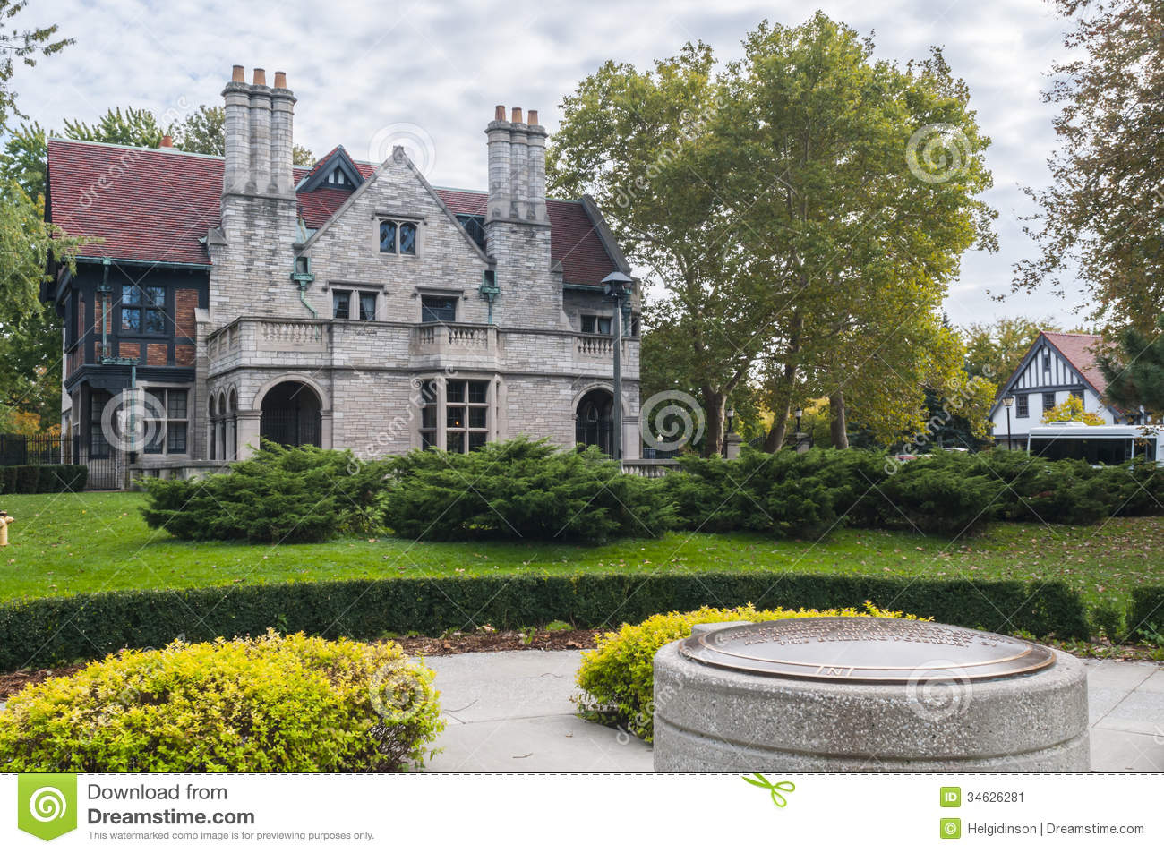 Willistead manor windsor ontario stock image image of for Building a house in ontario