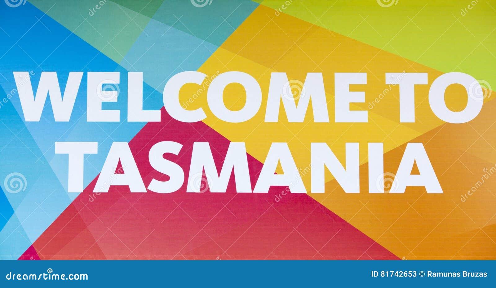 Willkommen nach Tasmanien