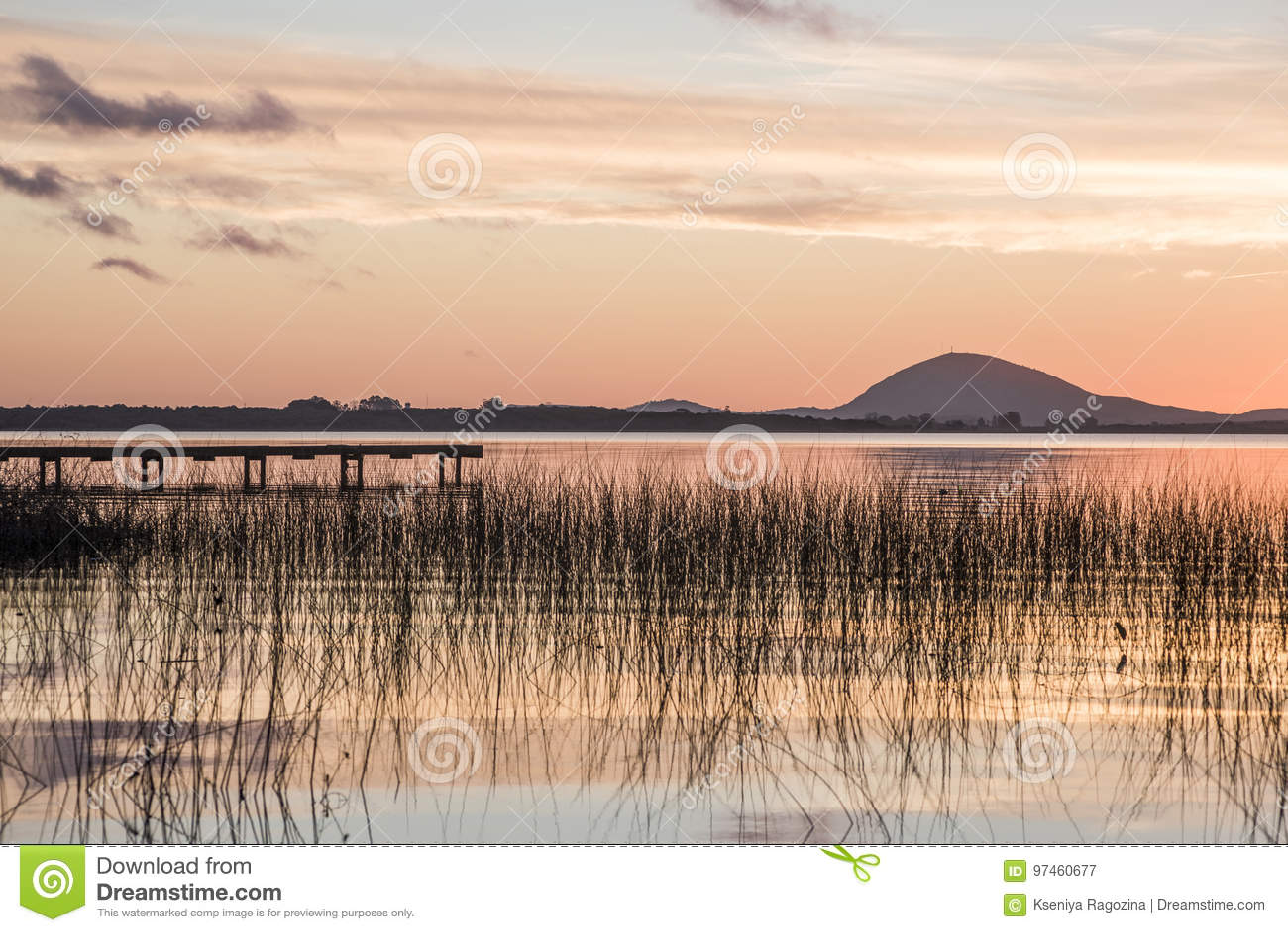 Willow Lake idilliaca, Maldonado dell Uruguay