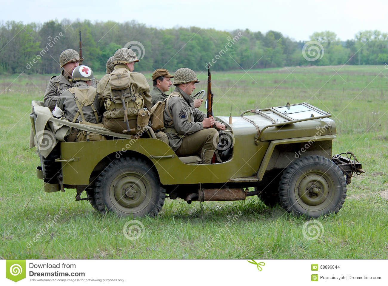 Jeep mb jeep : Willys MB jeep editorial stock image. Image of khaki - 68896844