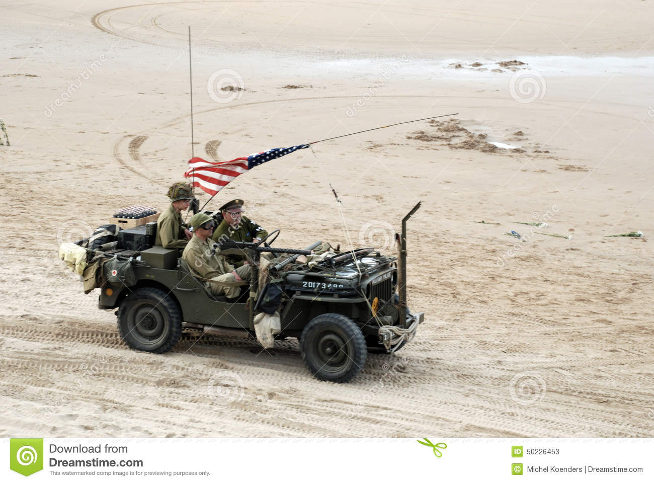 Willys MB Jeep 5 Editorial Stock Photo - Image: 50226453