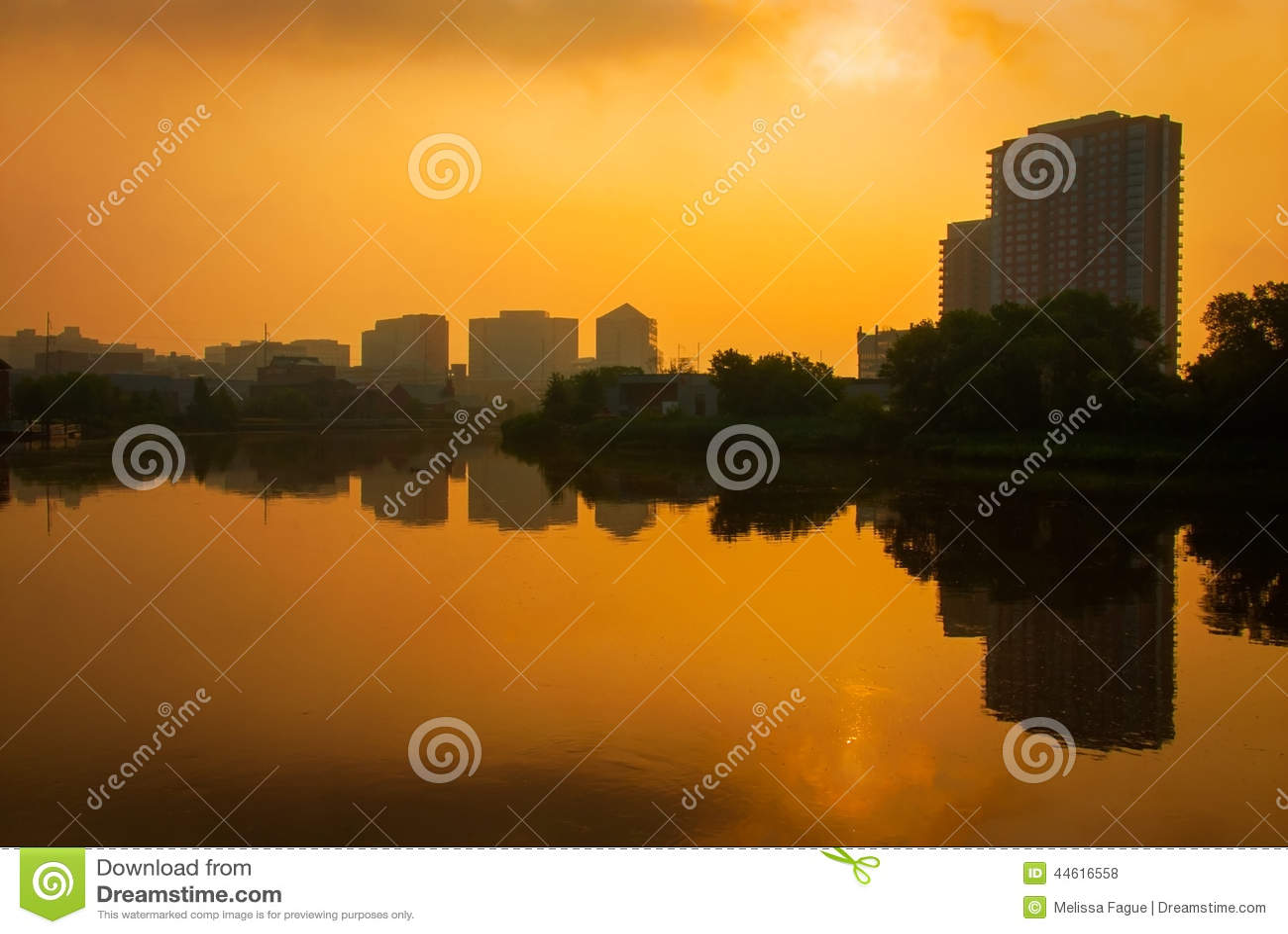 Wilmington bei Sonnenaufgang