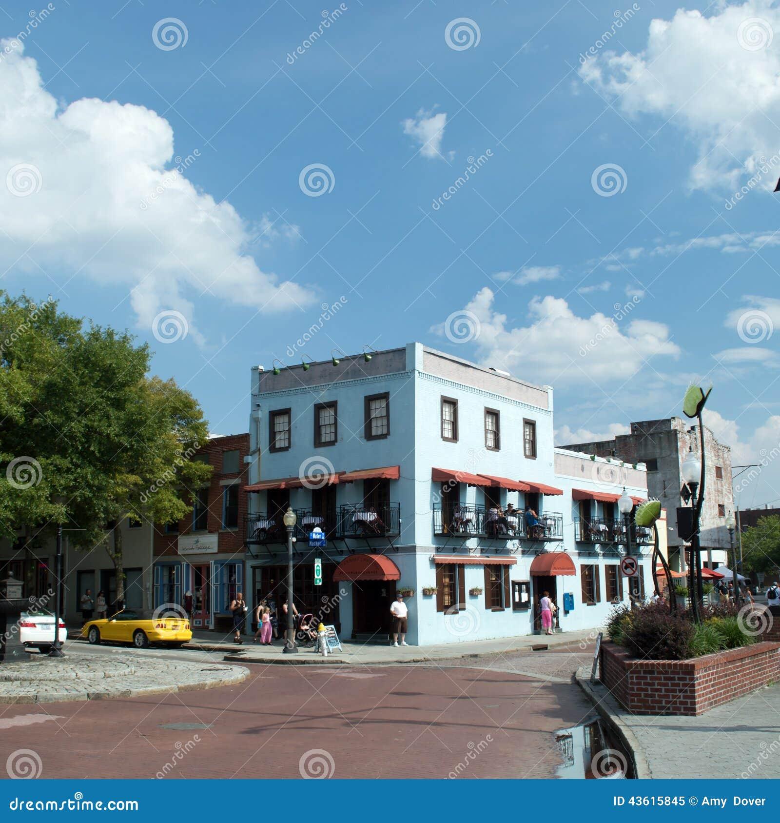 Wilmingtonnc Usa Aug 172014 Riverboat Landing Restaurant