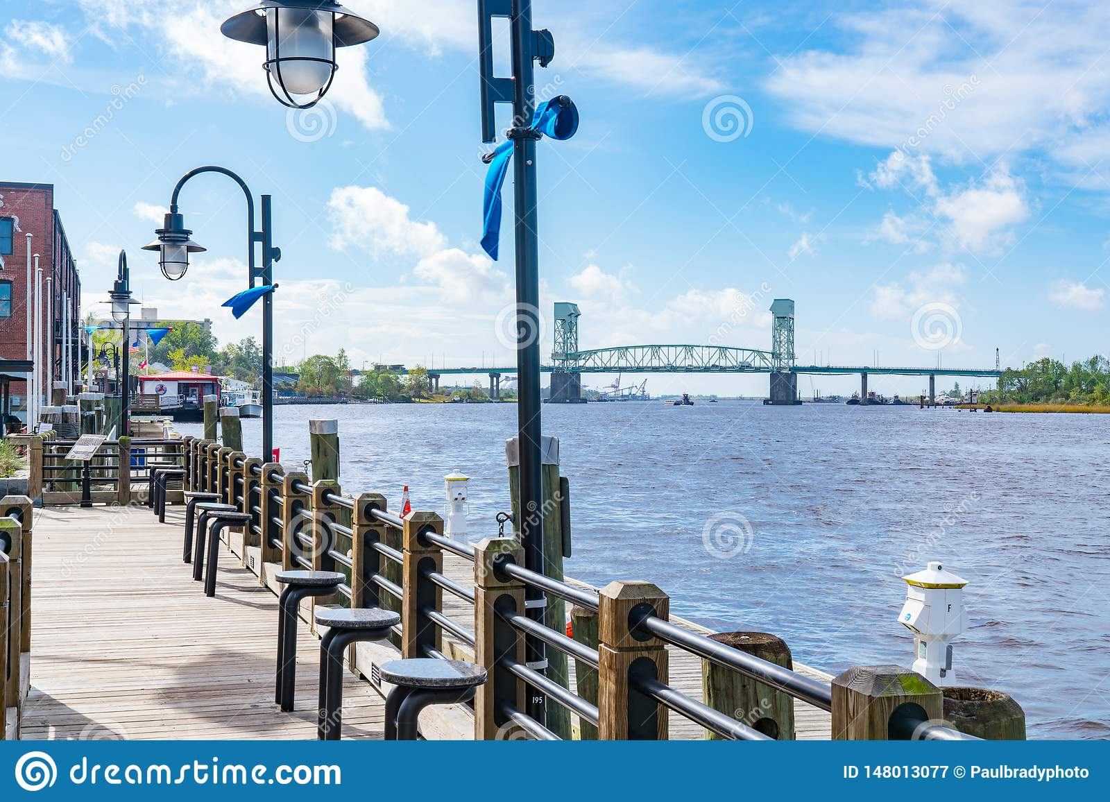 Wilmington, Nord-Carolina Riverwalk