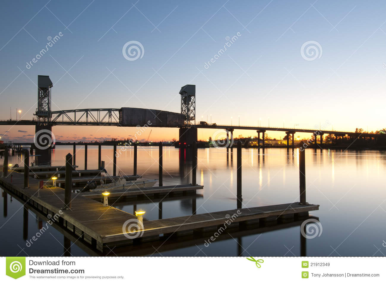 Wilmington Waterfront Royalty Free Stock Images Image