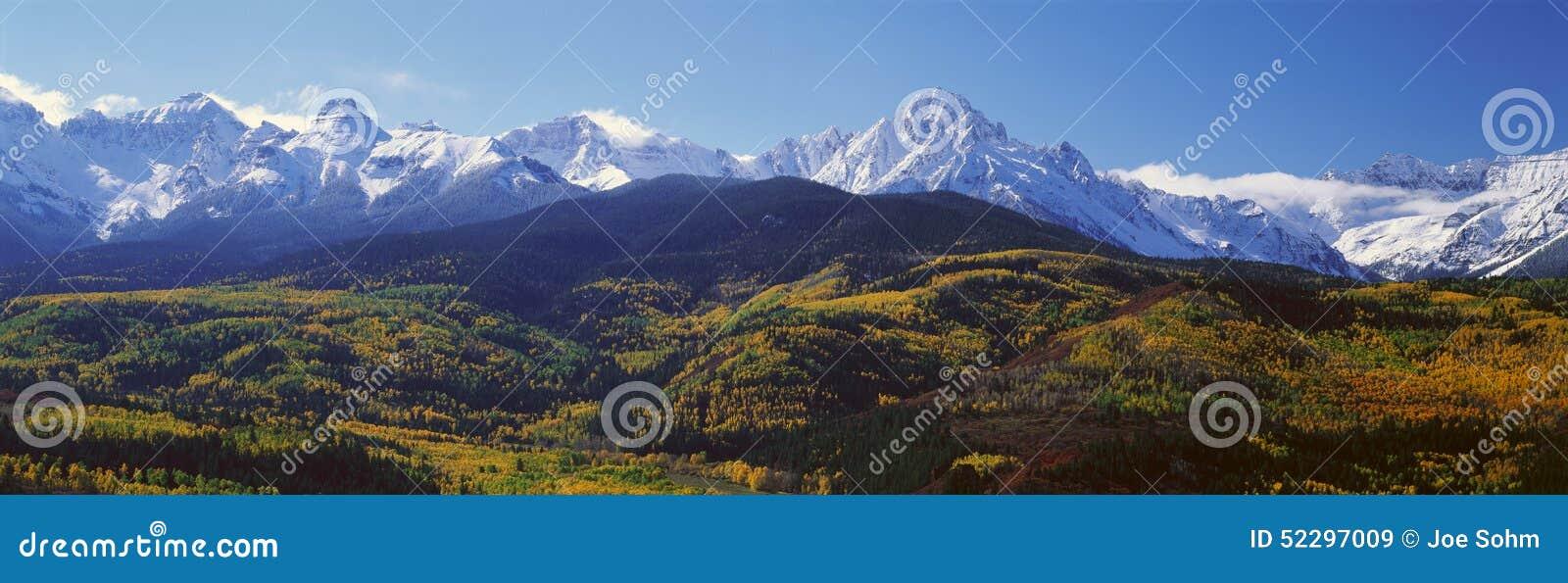 Wilson Peak, San Juan National Forest, le Colorado
