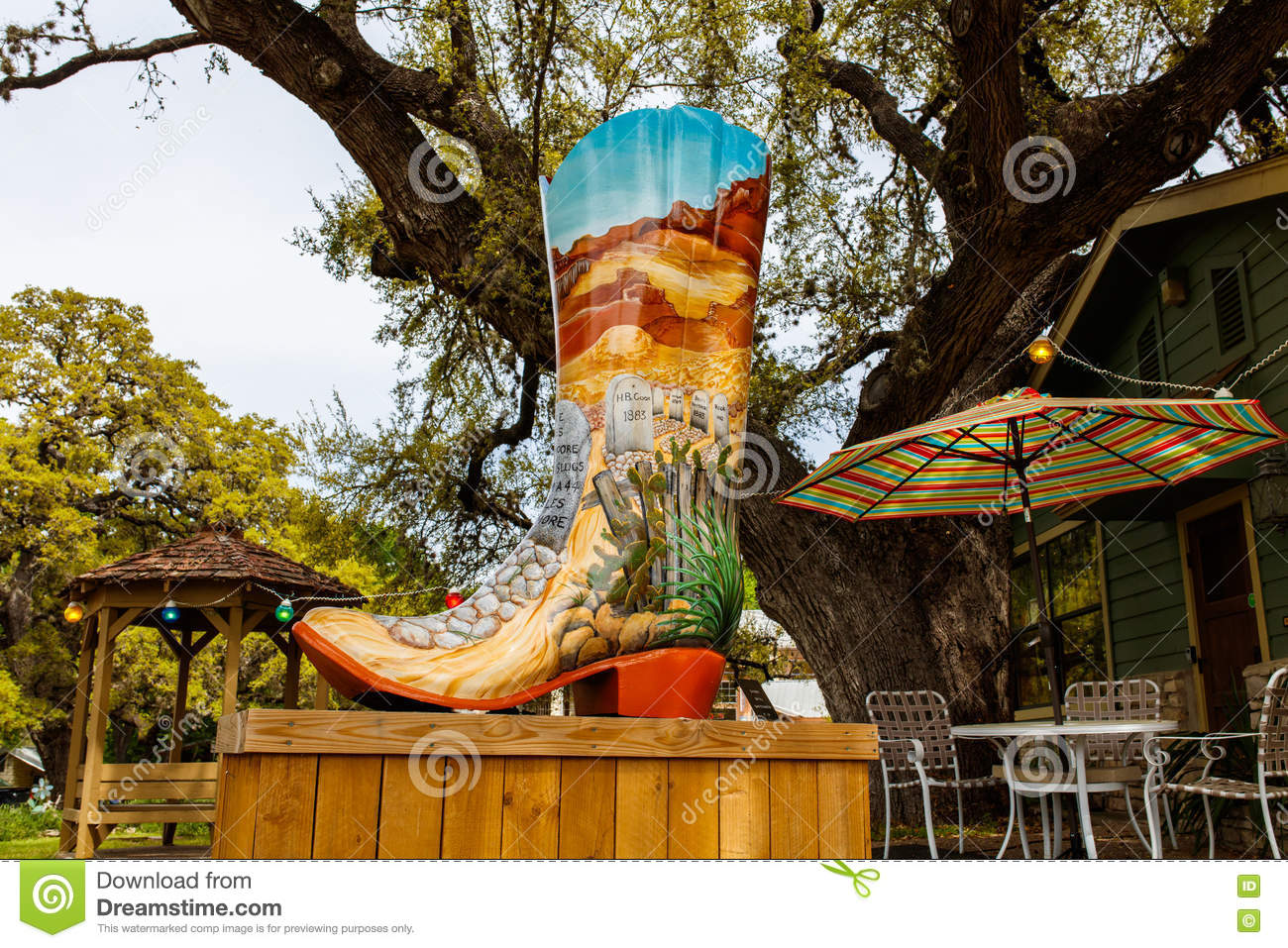 03734ac13f65 Wimberley Boot Art editorial photography. Image of pretty - 71888237