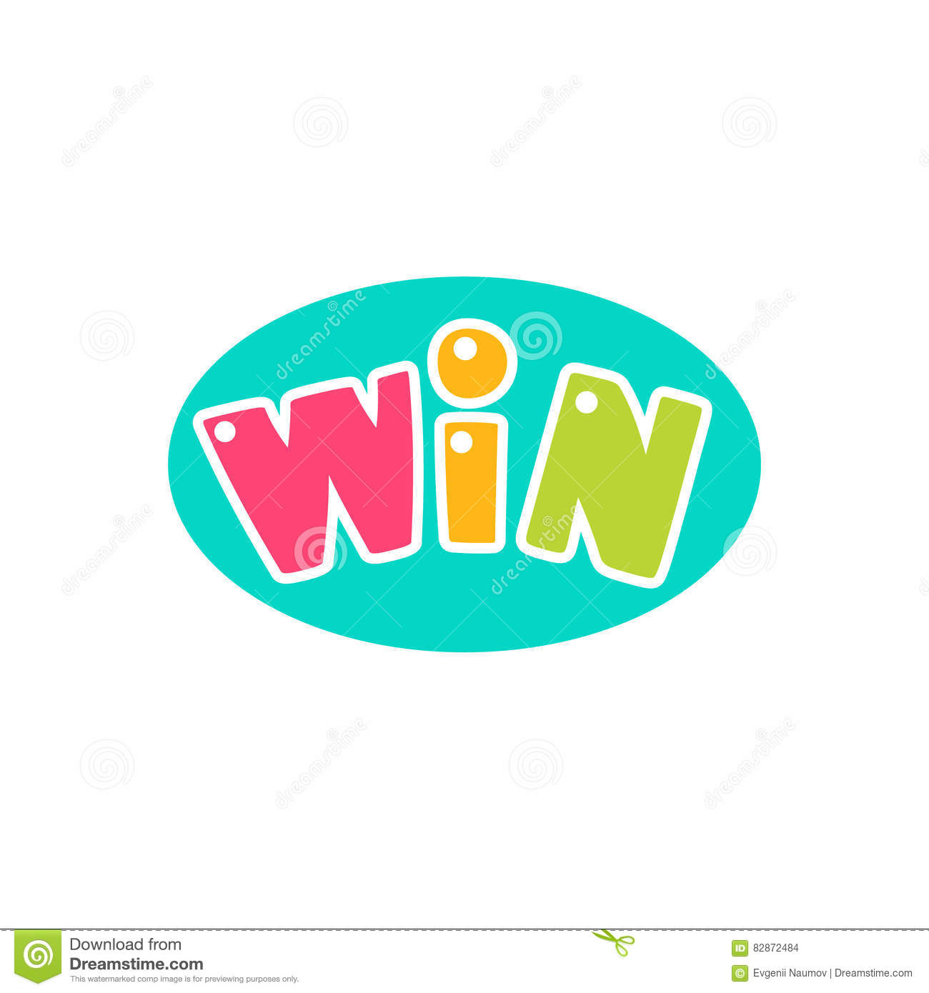 Win congratulations sticker with bubble design template for video download comp spiritdancerdesigns Gallery