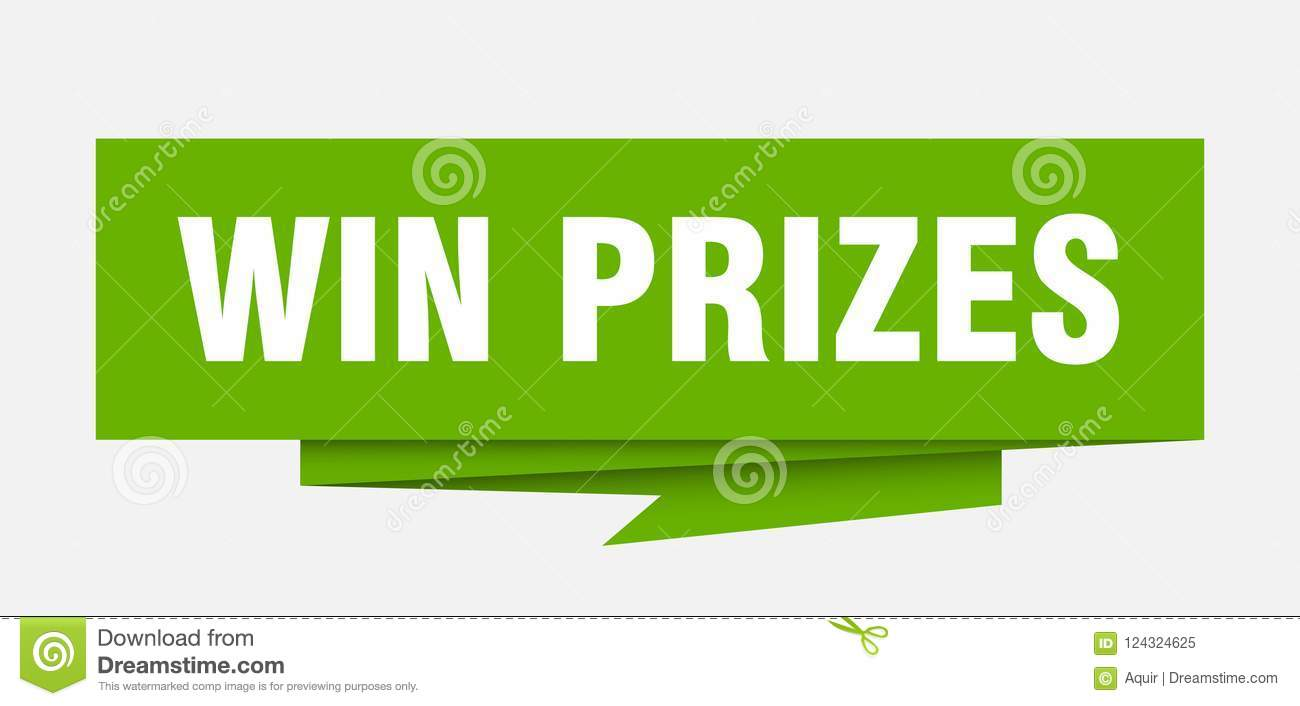 win prizes sign win prizes paper origami speech bubble win prizes tag win prizes banner