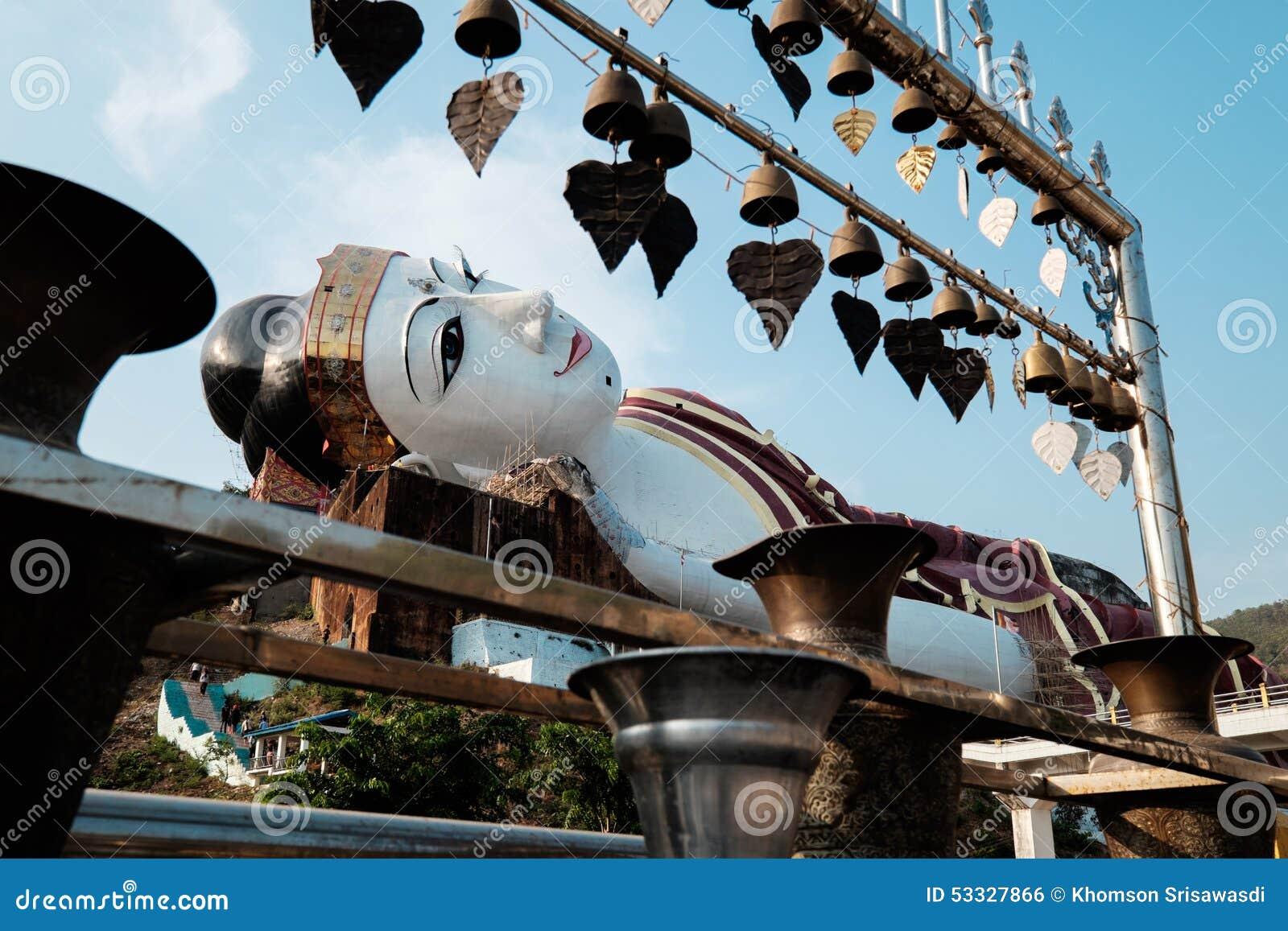 Giant Reclining Buddha · Win Sein Taw Ya Royalty Free Stock Image & Win Sein Taw Ya Reclining Buddha Statue Mawlamyine Myanmar Stock ... islam-shia.org