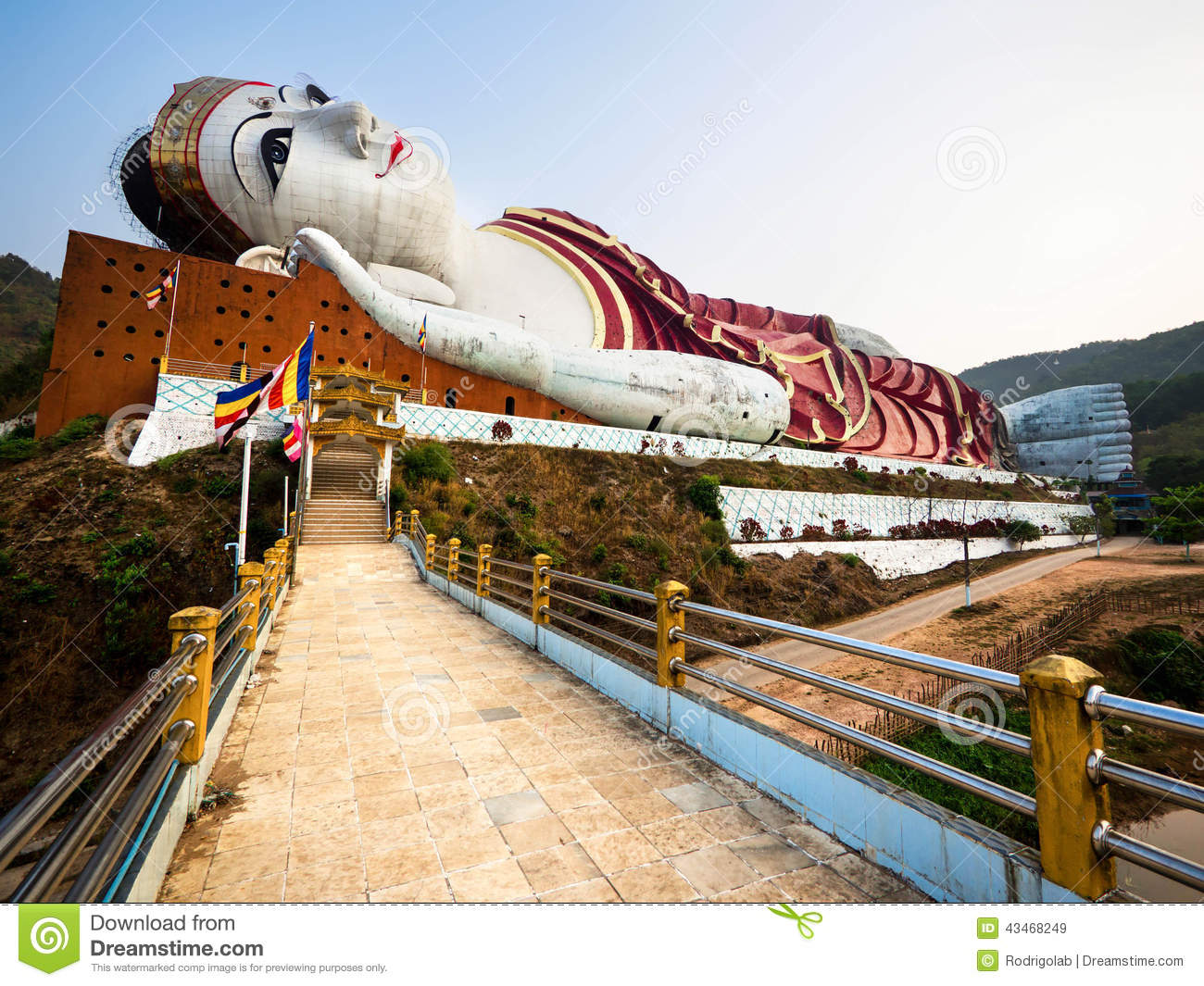 Royalty-Free Stock Photo : giant reclining buddha - islam-shia.org