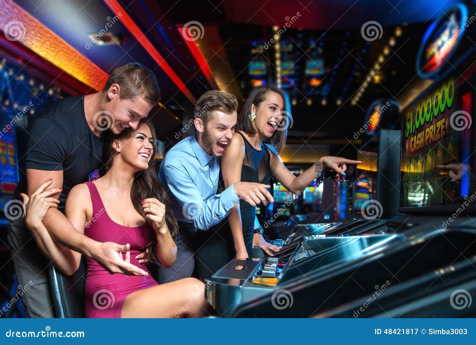 win on slot machine