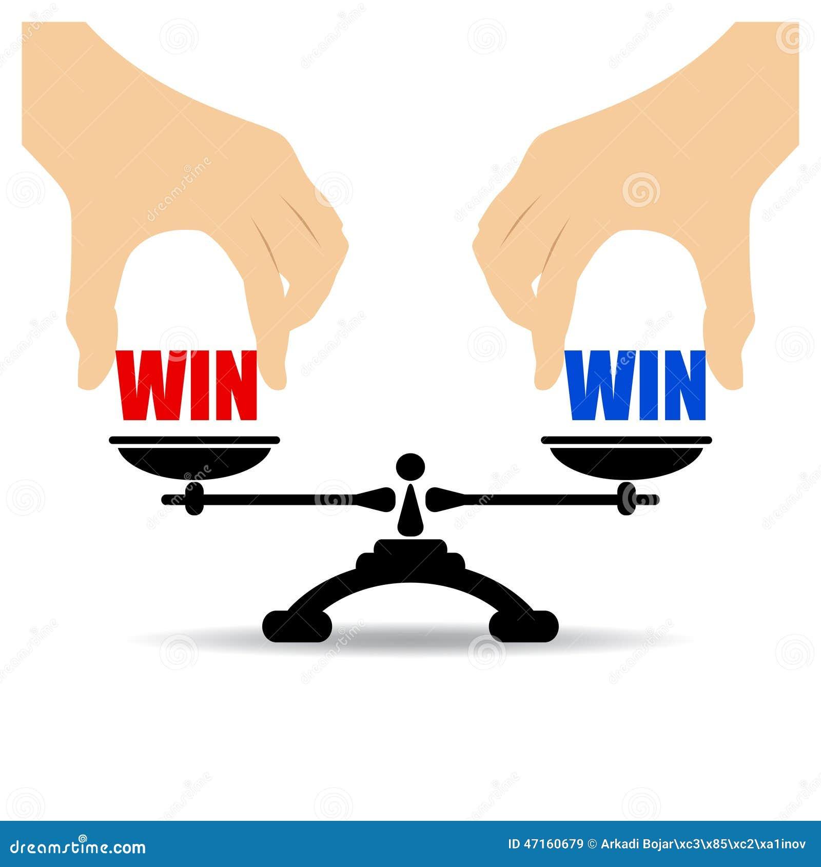 Win Win Concept Stock Vector Image 47160679