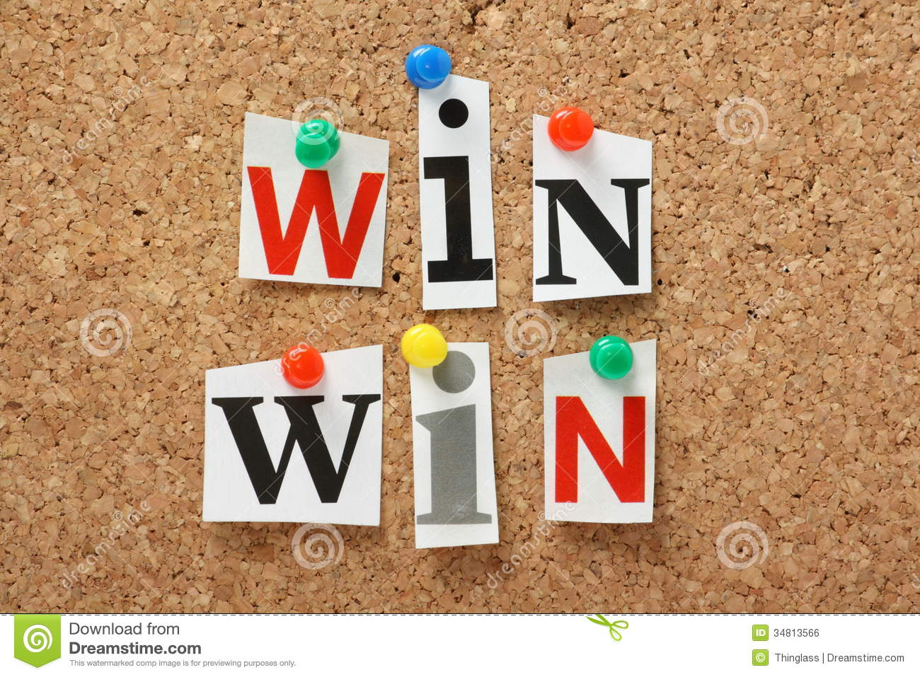 Win Win Situation Royalty Free Stock Image Image 34813566