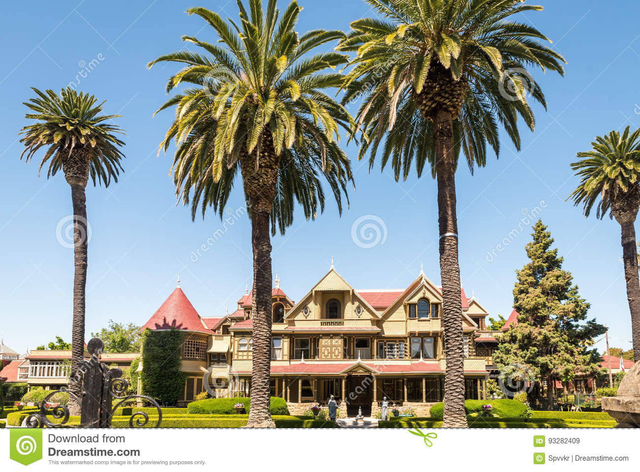 Winchester Mystery House in San Jose