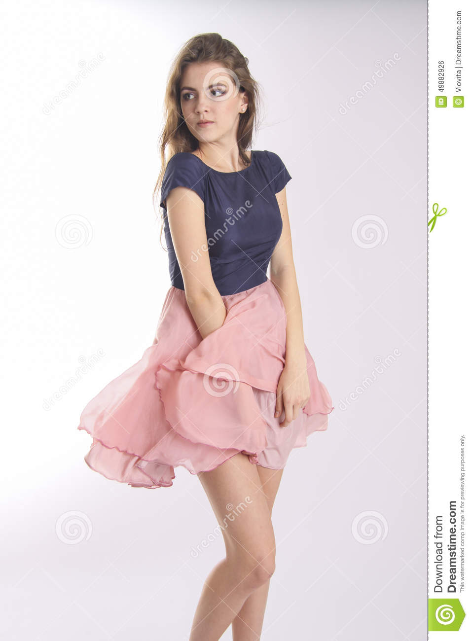 stable quality official store outlet boutique Wind Of Change Blowing Girls`skirt. Visualization Concept ...