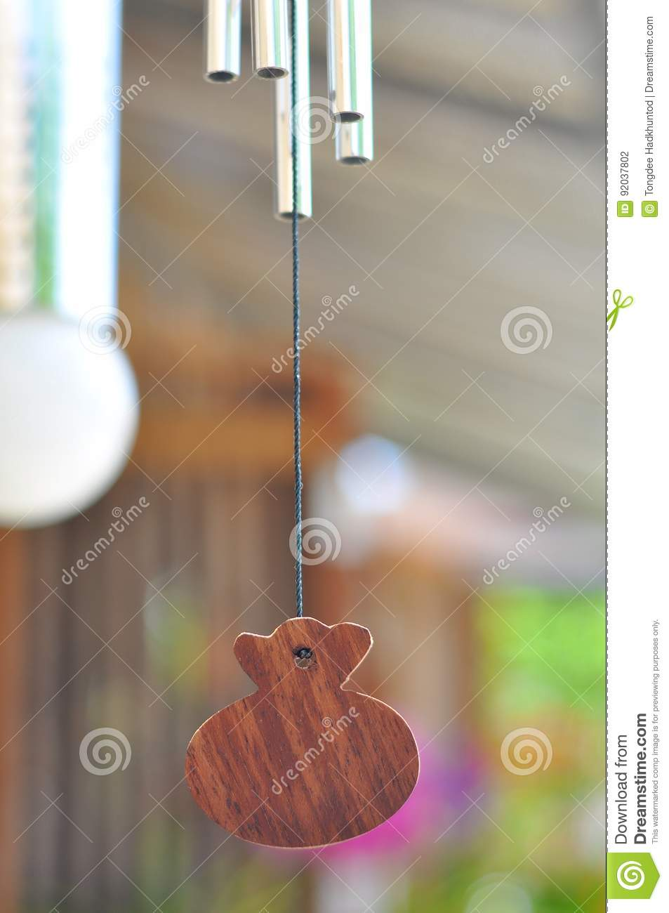 Wind Chime stock photo  Image of chime, relax, stye, wind - 92037802