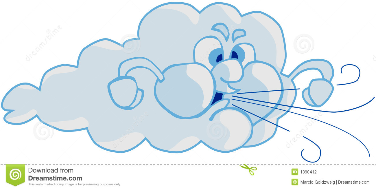 Wind And Cloud Stock Photography - Image: 1390412