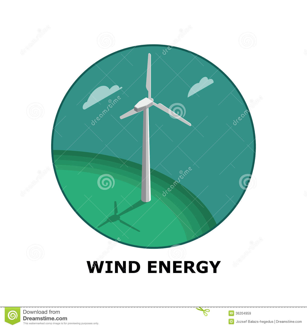 Wind Energy, Renewable Energy Sources - Part 1 Royalty Free Stock ...