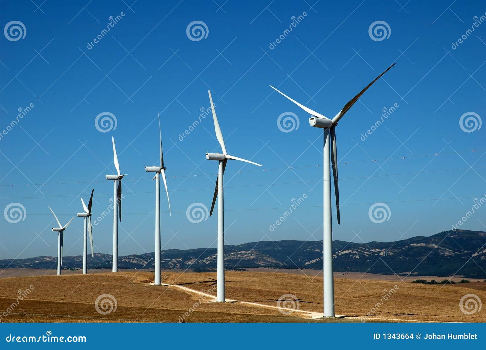 Wind för alternativ energi