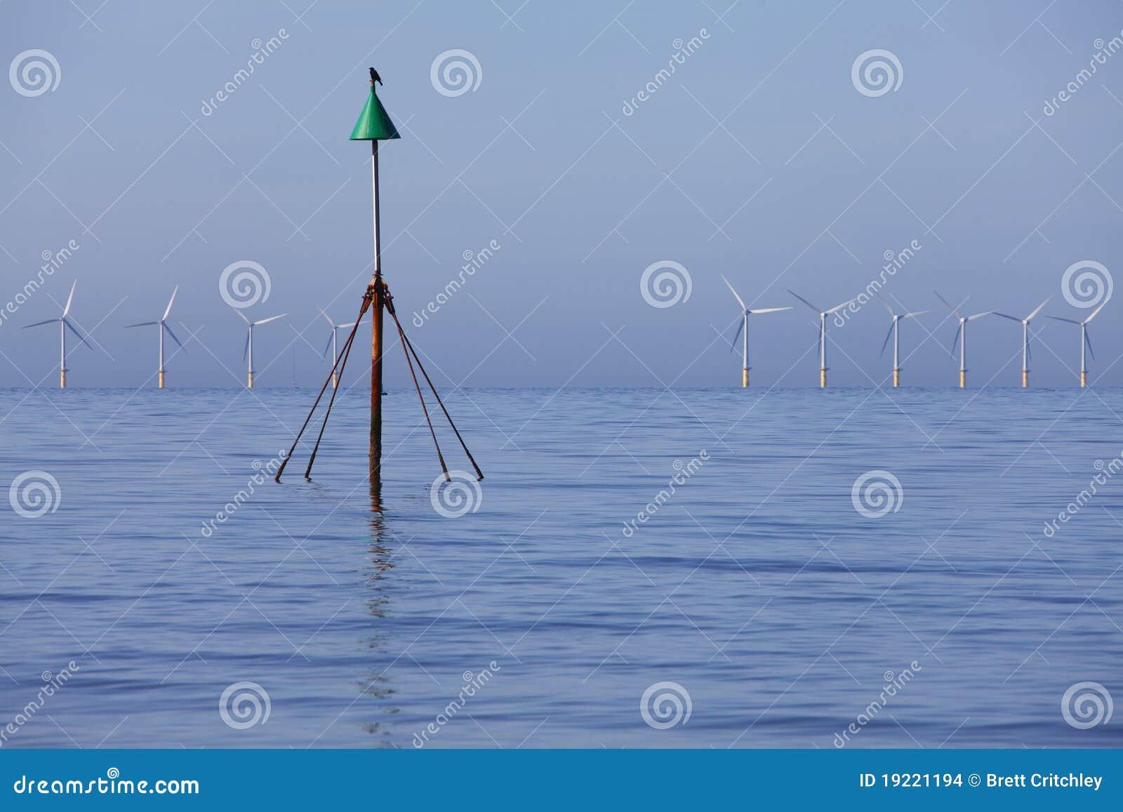 Wind för ecoenergiström