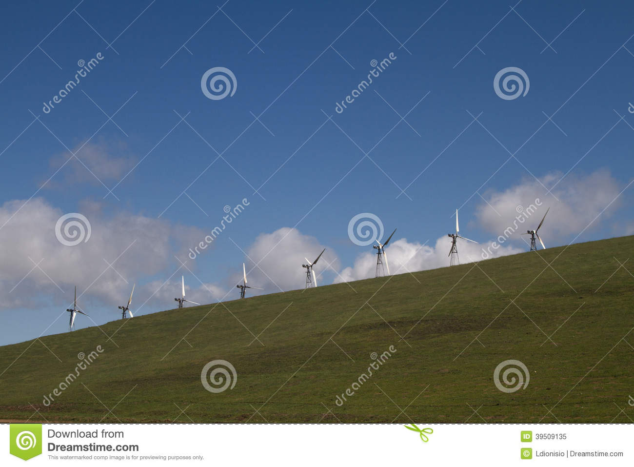 Wind Mill Farms in Northern California