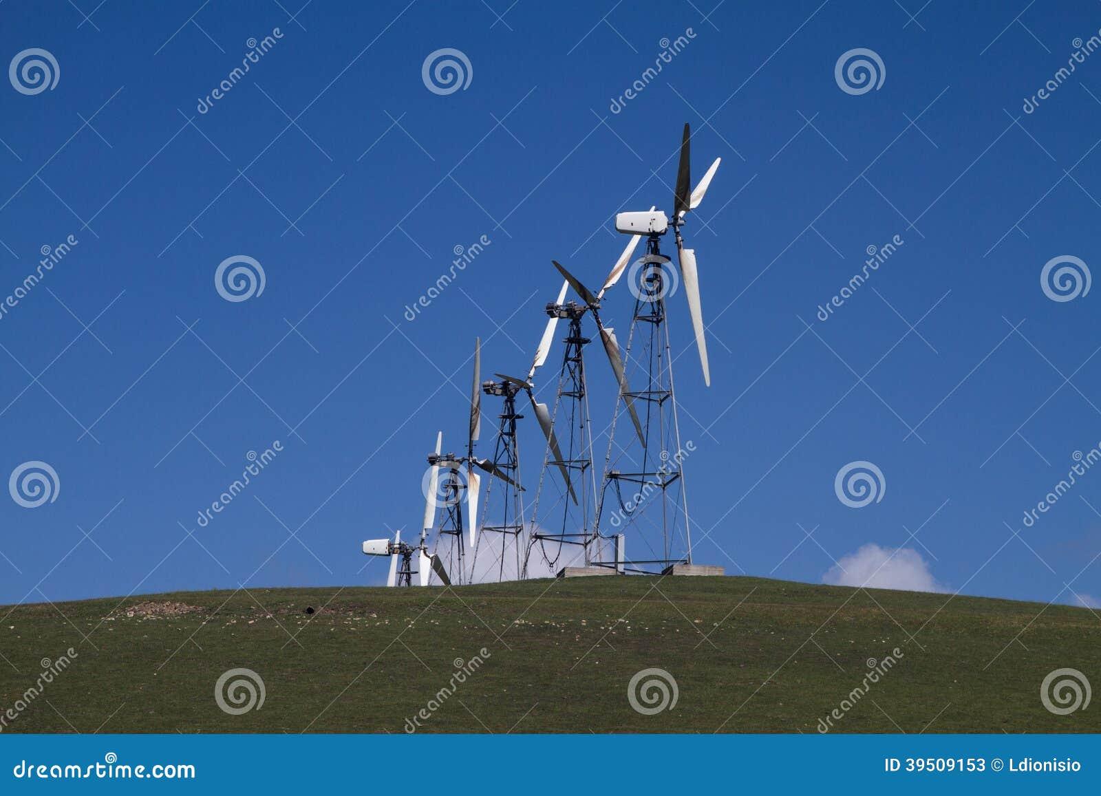 Wind Mill Farms in Northern California