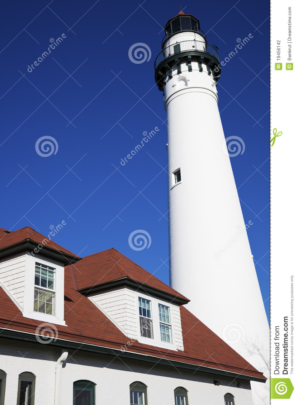 Wind Point Lighthouse Stock Photography Image 19456142