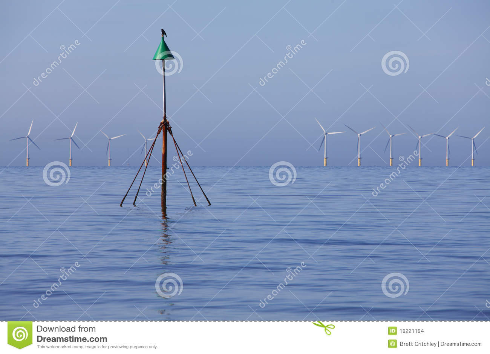 Wind power eco energy