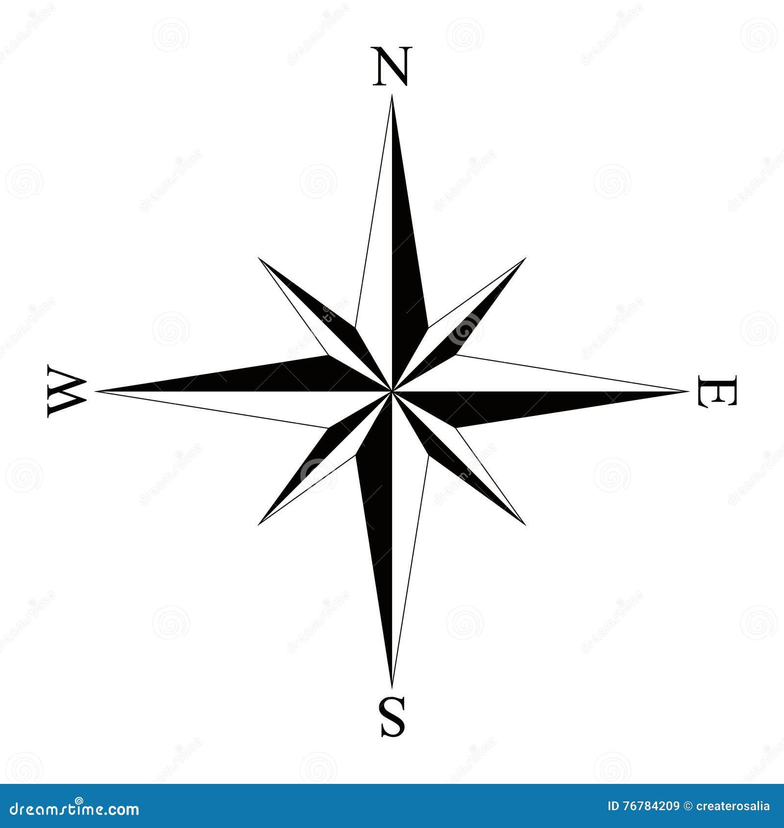 Compass Logo Isolated On White Background Vector Illustration Cartoondealer Com 83126808