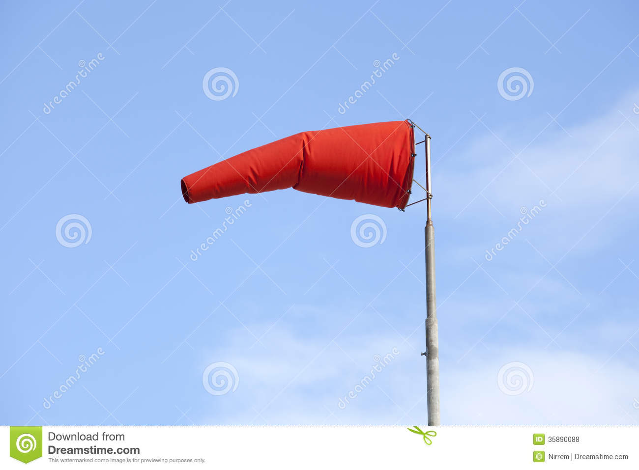 what does a wind sock do