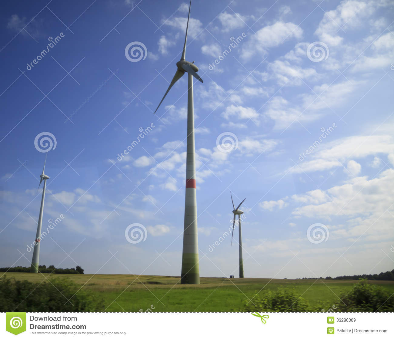 Wind Turbines - Alternative Energy Sources Royalty Free Stock Images ...