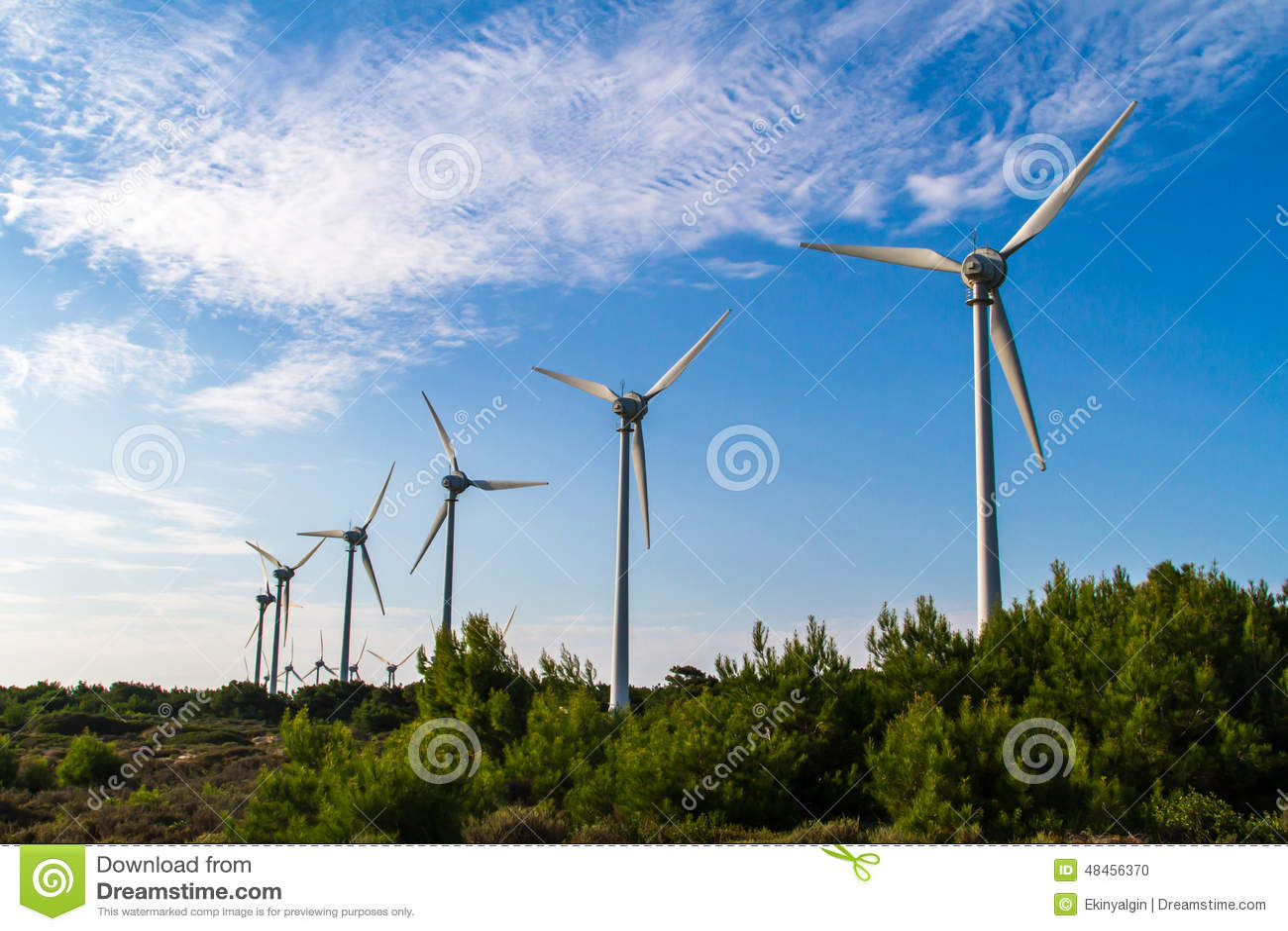 Wind Turbines for Renewable Energy