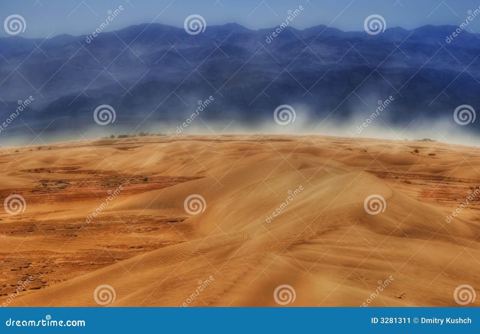 Wind von Death Valley
