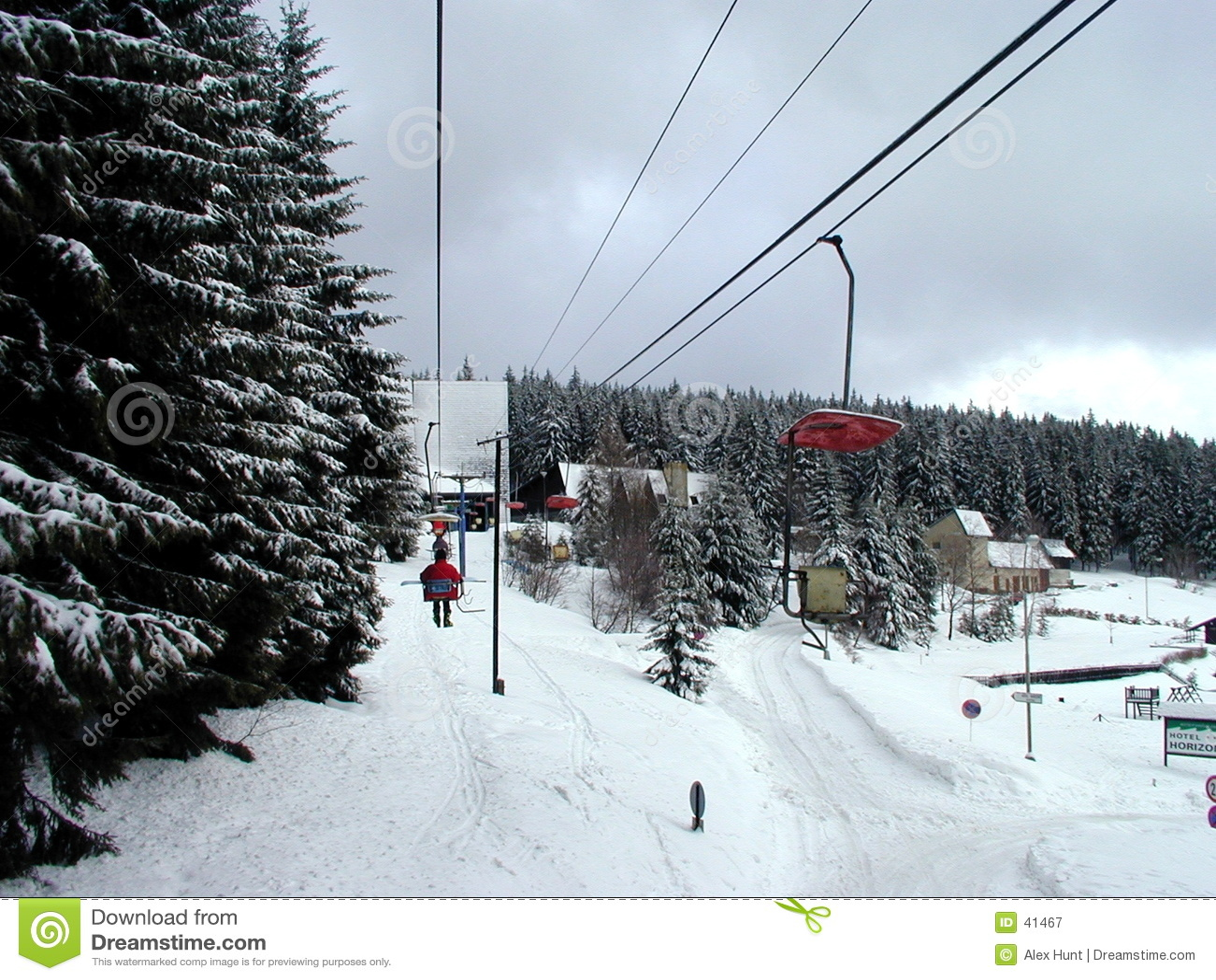 Winda na nartach