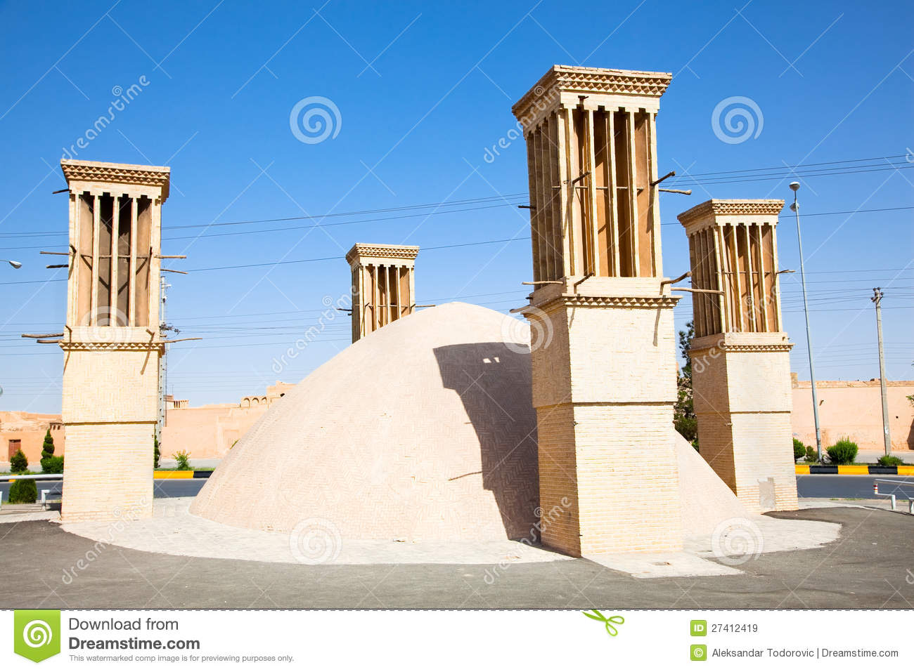 ... An Old House , Yazd, Iran Royalty Free Stock Images - Image: 27412419