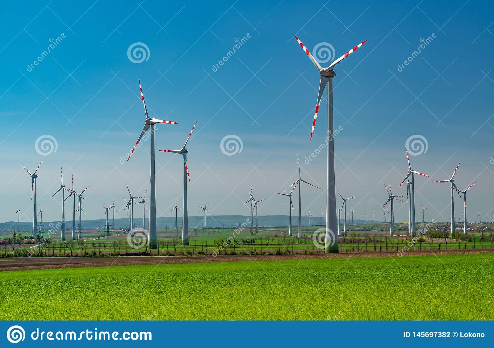 Windfarm в Австрии