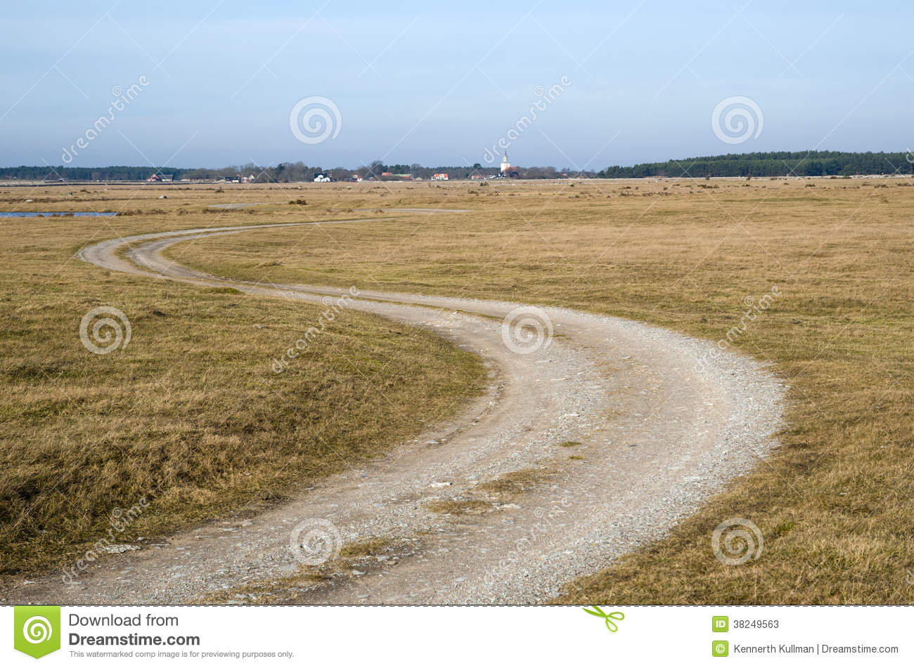 Winding dirt road stock image. Image of oland, winding ...
