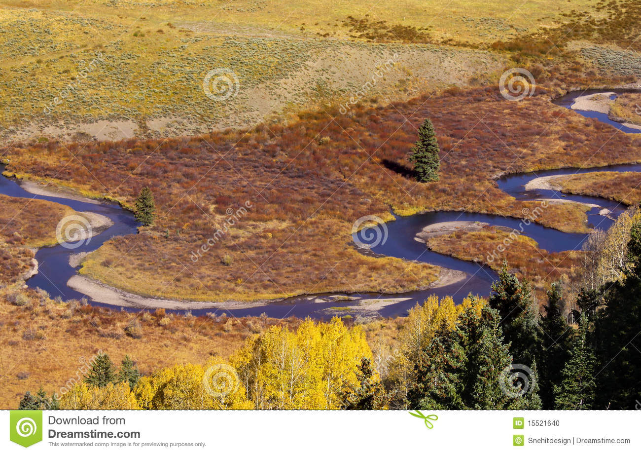 Winding River Clipart Winding river near crested