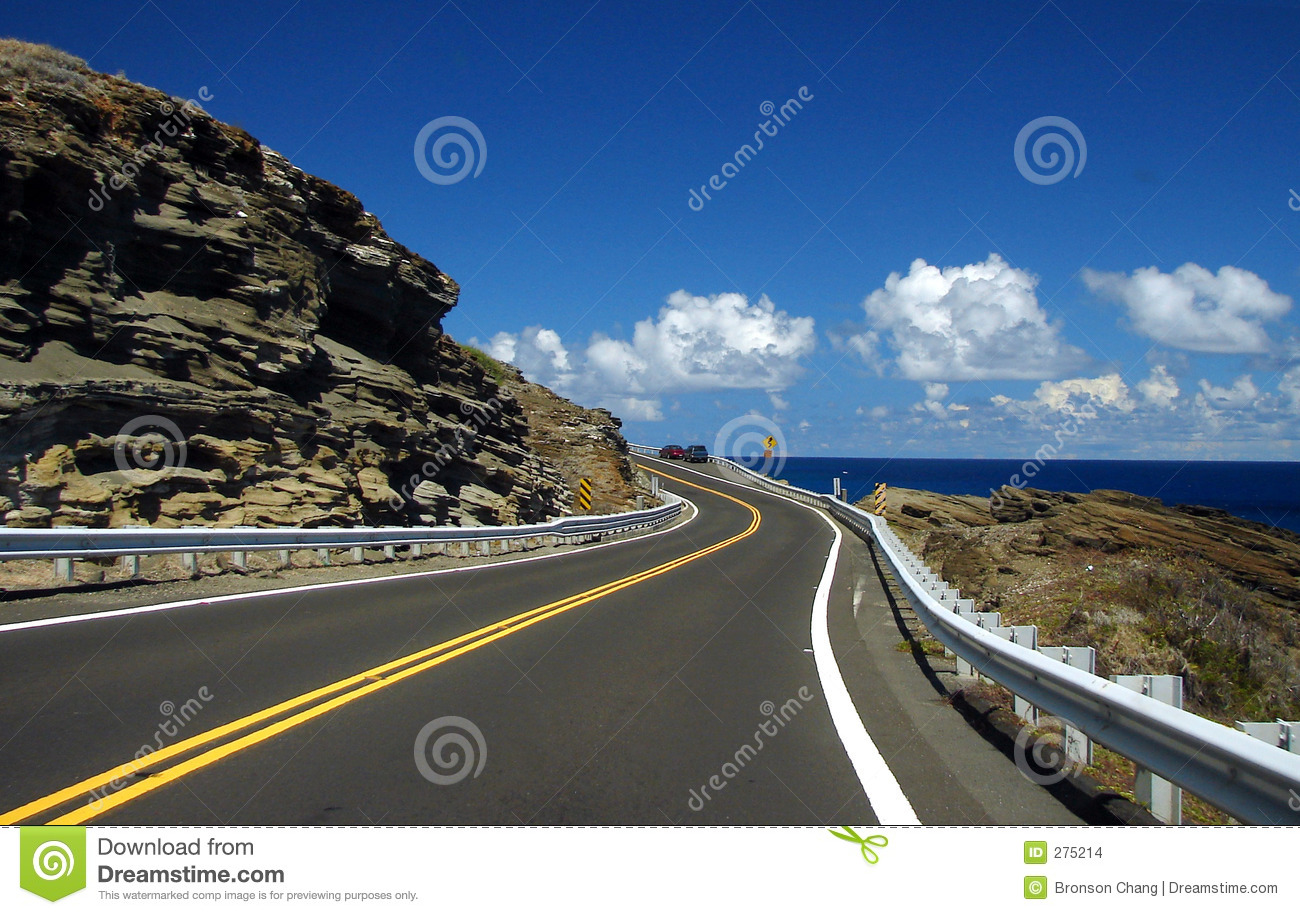 Winding Road to the Ocean