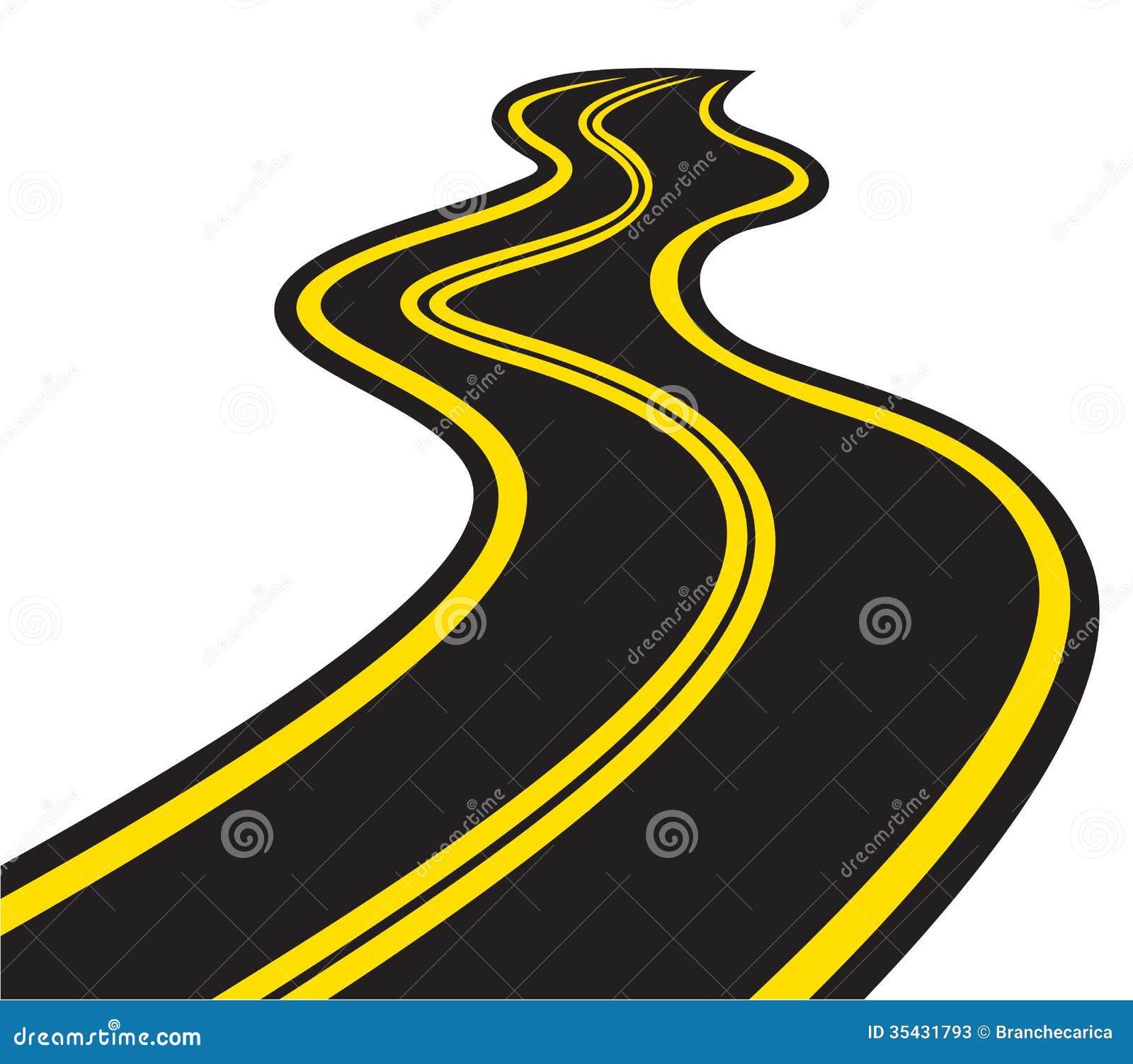 Winding Path Illustration Winding Road Stock Pho...