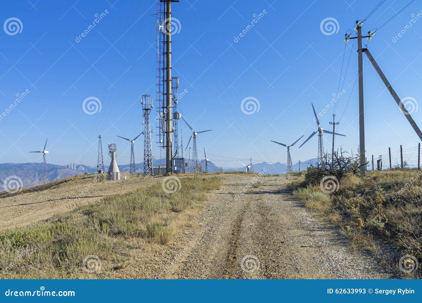 Windkraftanlage krim