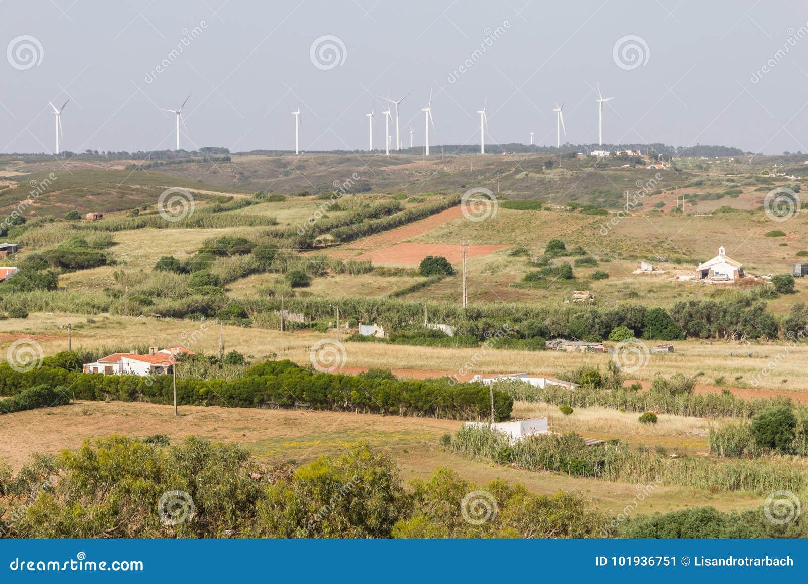 Windlandbouwbedrijf en landbouwbedrijven in Vila do Bispo