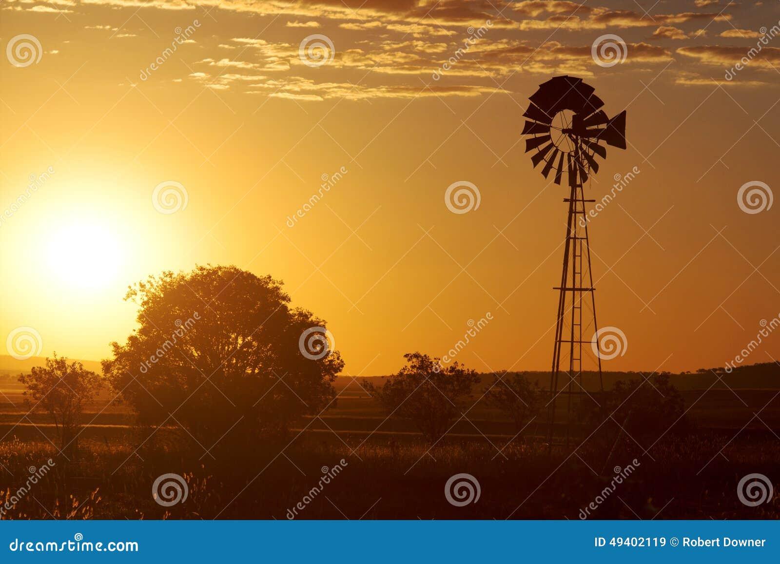 Download Windmühle in Brisbane stockbild. Bild von hitze, outdoor - 49402119