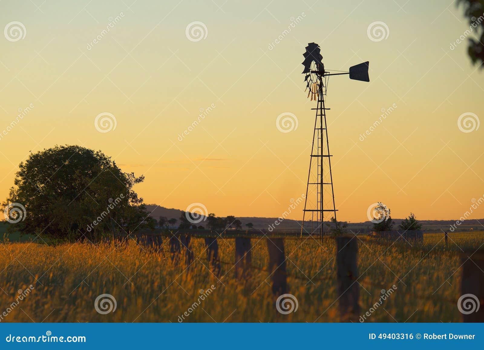 Download Windmühle in Brisbane stockfoto. Bild von landwirtschaftlich - 49403316